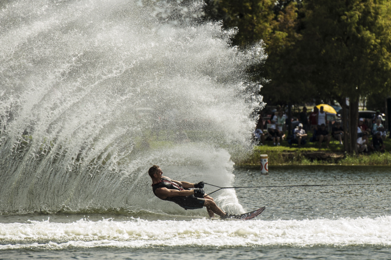Will Asher, #1 Skier in the world, goes for broke every time he sets foot on the water.