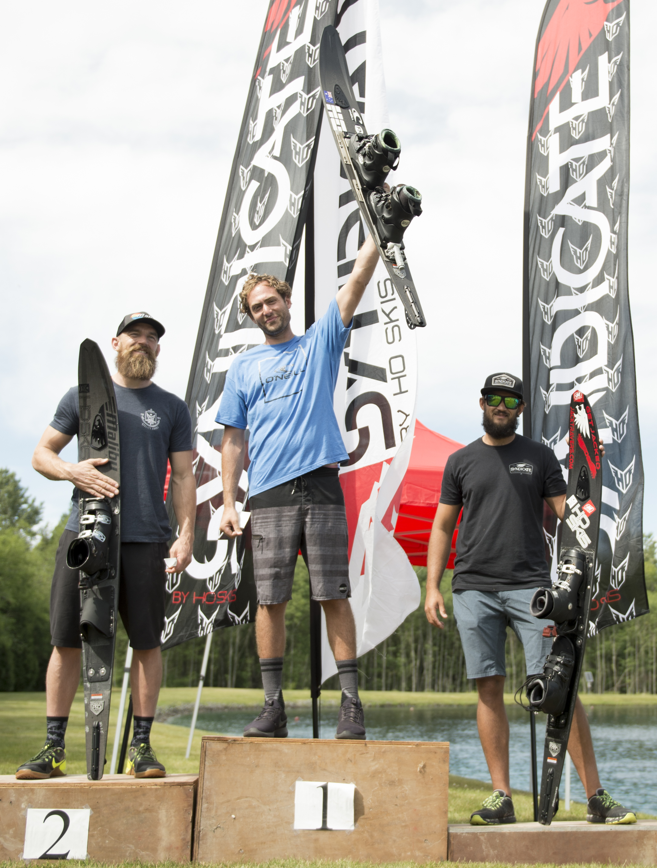 Nick Adams reigned supreme at the Syndicate Hilltop Pro-Am, taking home 4k and besting team-mates Will Asher(2nd) and Jon Travers(3rd)