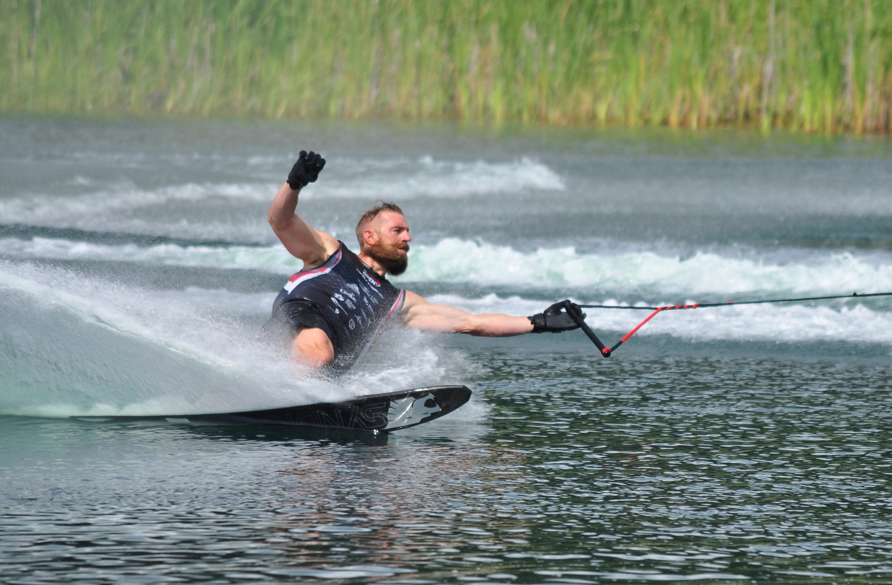 Asher ran 3@41/36 at the Canadian Waterski Open